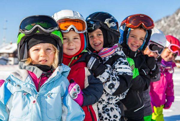 Kinder Gruppen Skikurs